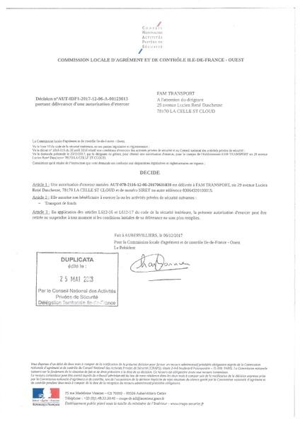 Commission locale d'agrément et de contrôle